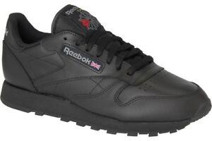 Reebok Classic Leather Sneaker schwarz 41 2267
