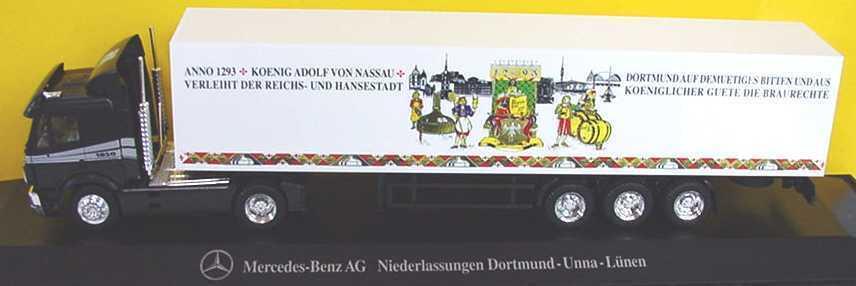 1 87 Mercedes-Benz Sk Lorry 700 Years Braurecht MB Needle Dortmund-Unna-Lünen