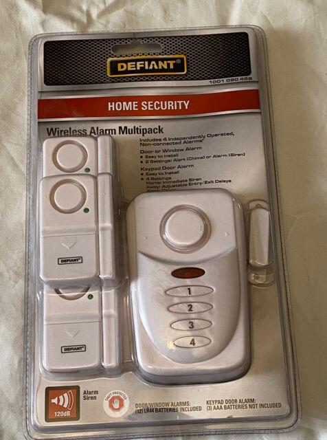 Defiant Home Security Door or Window Wireless Alarm Kit A2 ...