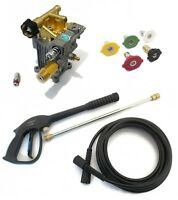 3000 Psi Pressure Washer Water Pump & Spray Kit 2.5 Gpm For Dek 2650 3200