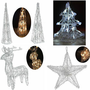 Weihnachtsbeleuchtung Fenster Pyramide.Details Zu Design Acryl Weihnachtsbeleuchtung Pyramide Christbaum Rentier Stern Beleuchtet