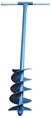 Handbohrer Pflanzbohrer Erdlochbohrer Handerdbohrer doppeltes Wendel 15 cm