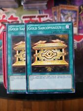 Yugioh Gold Sarcophagus x3 LDK2-ENY22 Common Unlimited NM//M