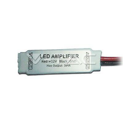 004075 MINI AMPLIFICATORE PER STRISCIA LED RGB 5050 3*4A