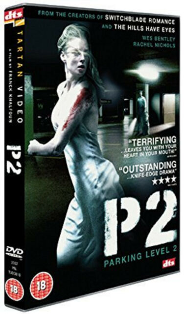 P2 DVD Rachel Nichols Wes Bentley Franck Khalfoun Original UK Release New R2