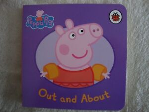 Peppa-Pig-Book-Out-And-About-Board-Book-Brand-New-RRP-3-99