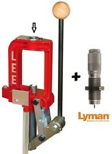Lee Breech Lock Single Stage Press + LYMAN Universal Decapping Die 90588+7631290