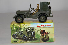 1960's French Dinky #828 Rocket Carrier Jeep, Nice with Original Box Lot #16