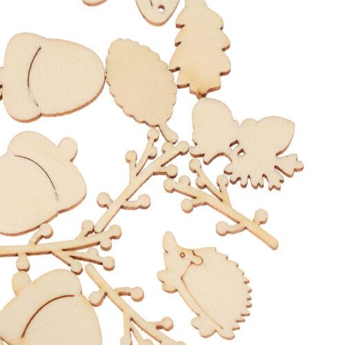 dekoration scrapbooking holz handwerk pilz eichhörnchen blätter form