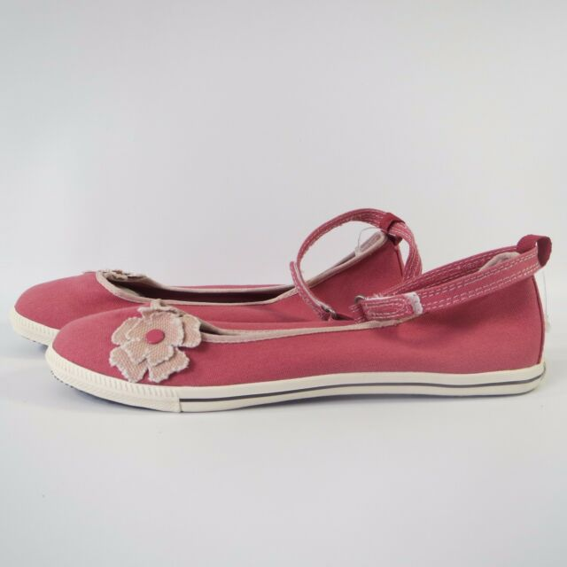 0b02afc6834d Women Girl Converse All Star Pink Ankle Skimmer Slip on Shoes Trainers Size  UK 3 for sale online
