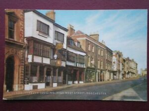 POSTCARD-DORSET-DORCHESTER-JUDGE-JEFFREY-039-S-LODGING-HIGH-WEST-STREET