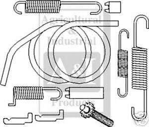 Ford 800 Tractor Engine Diagram further  likewise Ford 801 Parts Diagram moreover Ford Truck V8 Engine likewise 8n2200b Brake Shoes Drum Type 1. on 8n ford tractor brake parts