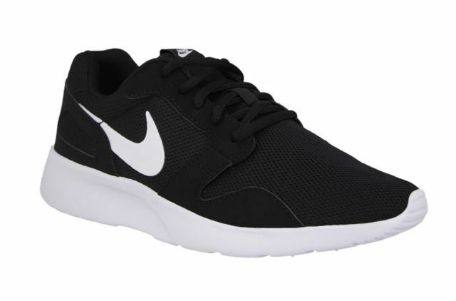 Comfortable and good-looking NEW Nike Kaishi Running Shoes Black White Dual Ride Mens Sz 8.5