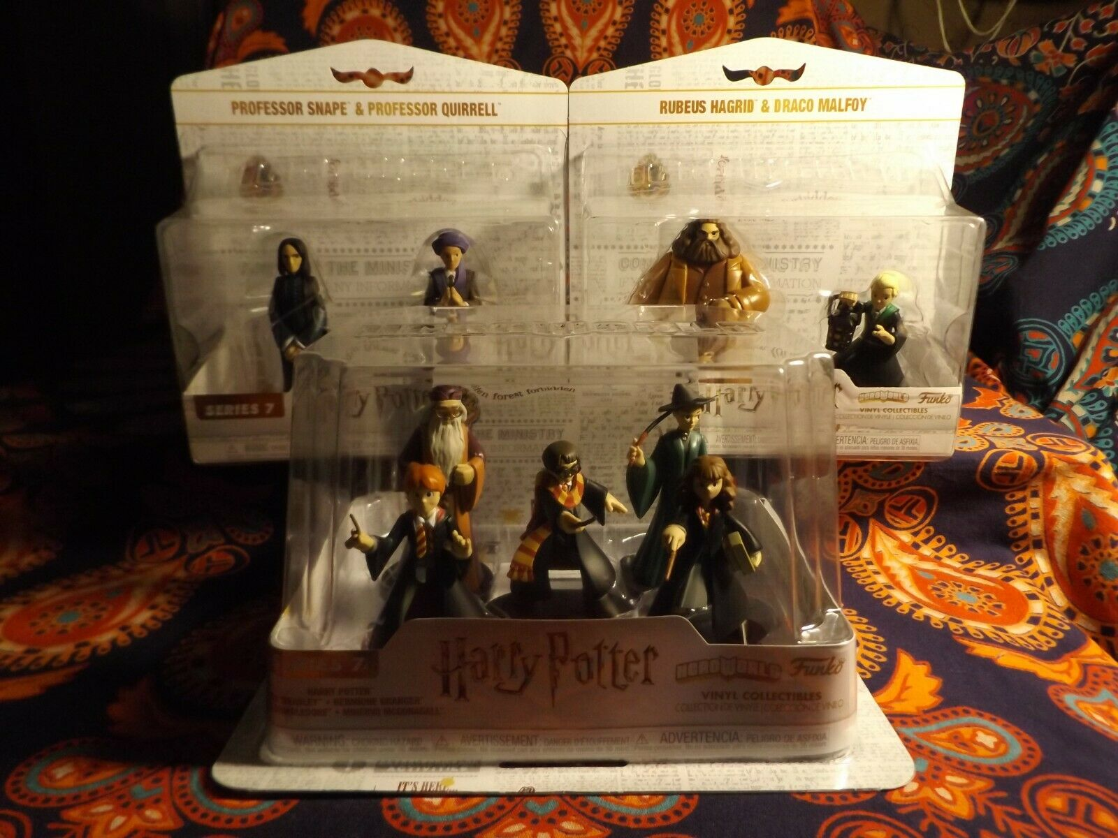 Funko Hero World 3 HARRY POTTER Sets 9 figures 1 5pk TWO Different 2pks Free S&H