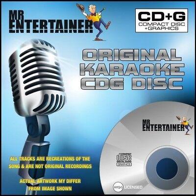 Mr Entertainer Karaoke Cdg - Mrh095 - Chart Hits 95 August 2012
