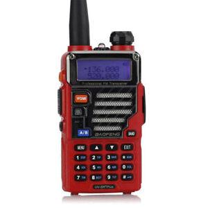 BaoFeng-UV-5R-Plus-Qualette-Earpiece-UHF-VHF-Transceptor-Emisora-Walkie-Talkie
