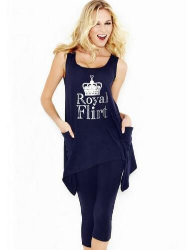 Ann Summers Royal Flirt Slouch Pj/'s Set Sz 12 *ONLY £9.99*