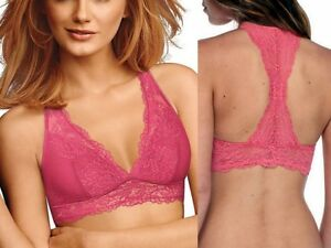 43e5c536ee7be Maidenform DM1126 Women s Lace T-Back Bralette Wirefree Bra
