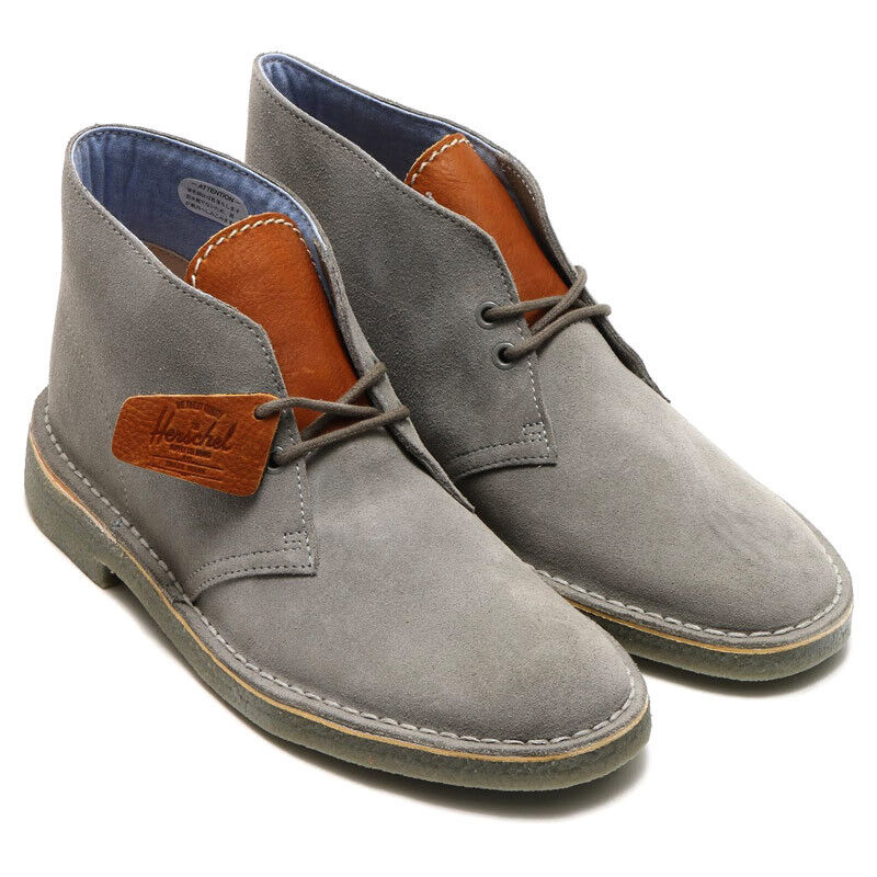 Clarks Originals Mens  Desert Boots , Herschel Grey or Navy Suede  UK 9,10 G