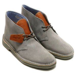 f5d7142398e27 Image is loading Clarks-Originals-Mens-Desert-Boots-Herschel-Grey-or-