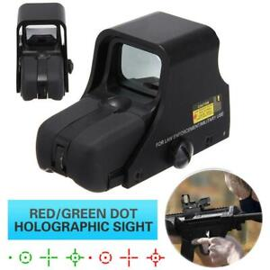 Tactical-551-Holographic-Red-Green-Dot-Airsoft-Scope-Sight-Outdoor-Hunting-UK