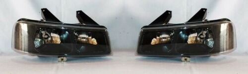 Right and Left Side Headlight PAIR For 2003-2009 Chevrolet Express//GMC Savana