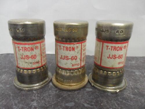 TRON 600 Volts Nice Lot Bussmann JJS 60 60 Amp Fuses Class T