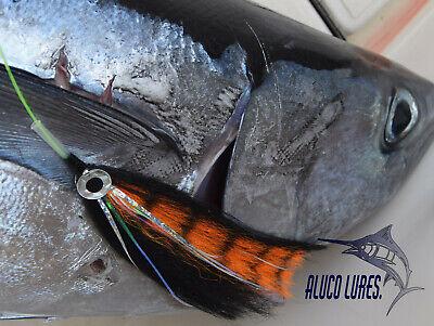 7-inch Pack of 6 Offshore Marlin//Tuna//Sailfish Tube Flies
