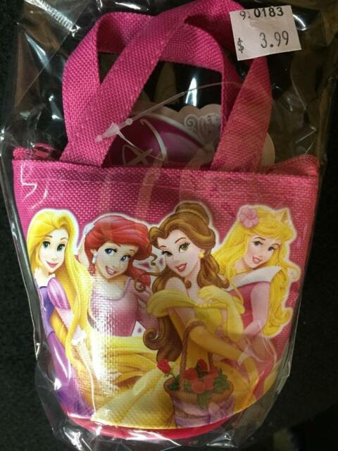 12 PACK Frozen Anna Elsa Mickey Minnie Candy Bags Mini Coin Party Purses Favors