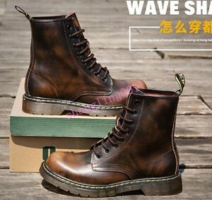 95fee0f70ea2 Sh Mens Retro Ankle Military Boots Lace up High top Combat Summer ...