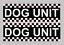 Dog Unit Magnet Battenberg Security K9 Handler UNIT Magnetic Car Door SIA x2