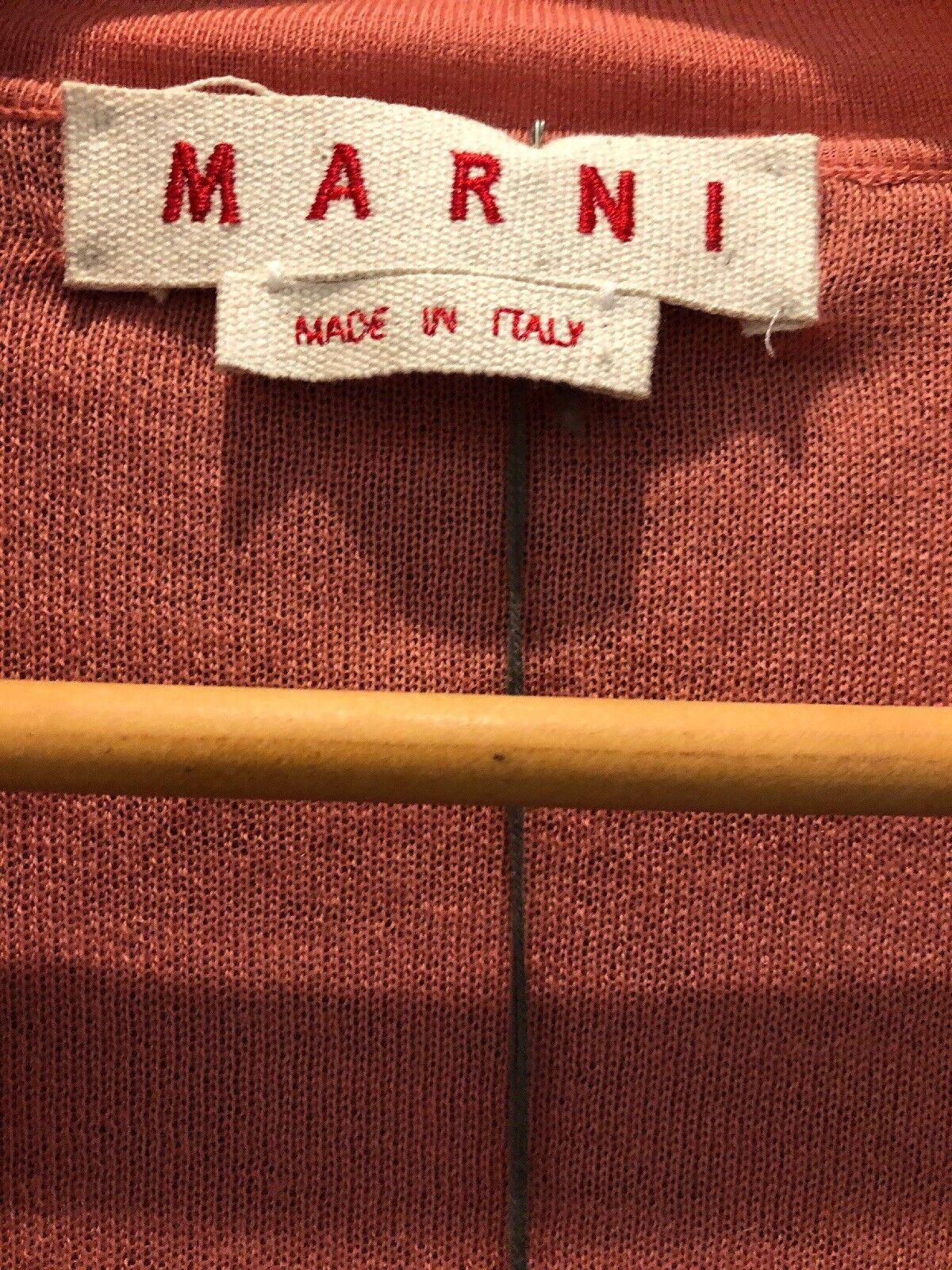 Marni Pink Women's Size Size Size 38 100% Cashmere Reversible Cardigan Retail  1300 12d7ab
