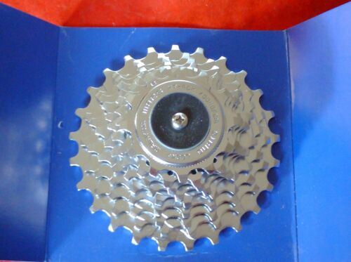 AMBROSIO NICKEL PLATED  9 /& 10 SPEED CASSETTE CAMPAGNOLO  FIT