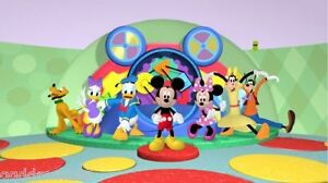 Cartoon vinyl photography background backdrop studio photo props 7X5FT Mickey