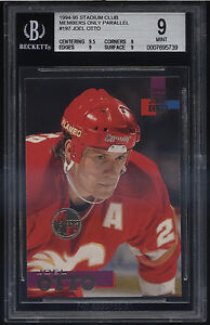 1994-95-Stadium-Club-Members-Only-Joel-Otto-Mint-BGS-9-Sub-9-5-Calgary-Flames