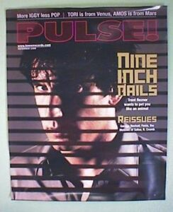 PULSE! MAGAZINE NINE INCH NAILS COVER | eBay