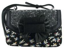 Irregular Choice Hook Line & Sinker Black Multi New Womens Hand Clutch Bag
