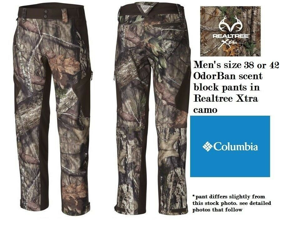 Columbia Men's 38 or 42 PHG  Stealth Shot III Pant hunting Realtree Xtra camo NWT  all in high quality and low price