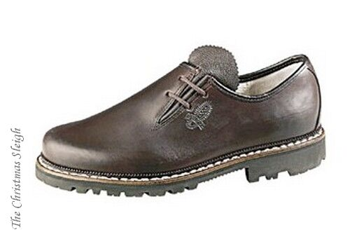 Meindl German Men's Brown Aniline Leather Dress shoes Handmade High Quality