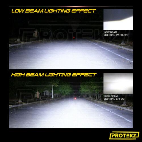 LED Headlight Kit 9006 White 6K Low Beam CREE Bulb for HYUNDAI Tiburon 1997-1999