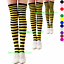 3-Women-039-s-Striped-Thigh-High-Socks-Sheer-Over-The-Knee-Plus-Size-Stockings-USA thumbnail 8