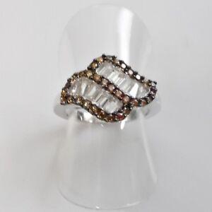 Quarz-Baguette-Weisstopas-Designer-Damen-Ring-925er-Sterlingsilber-52-16-5-mm