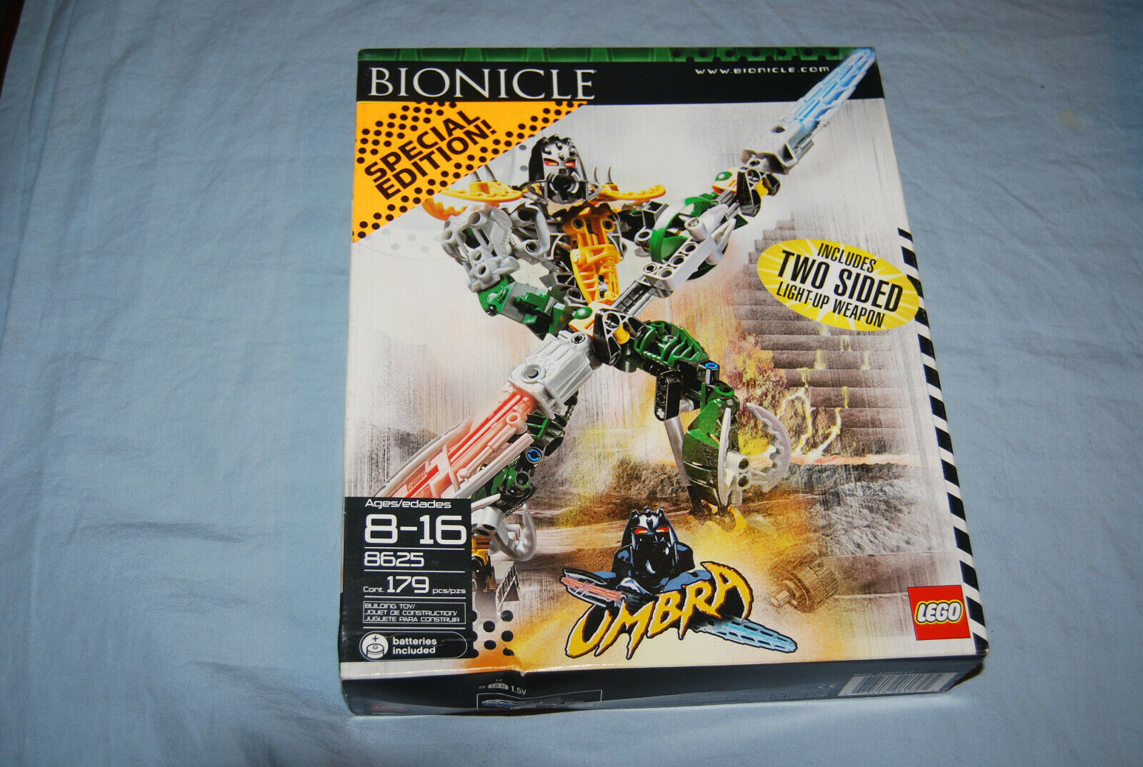NEW Lego Bionicle Umbra 8625 Factory Sealed Box Damaged Special Edition