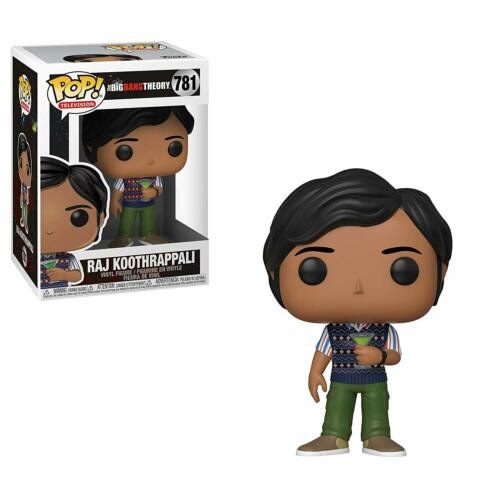 Big Bang Theory S2 Raj Koothrappali Funko Pop Figura in vinile #781