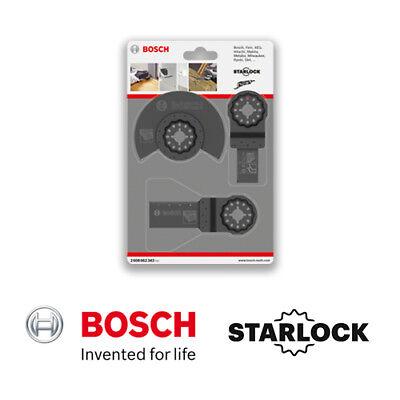x 1 //acz 85 ec //aiz 20 ab x 1 Bosch 2608662343 Set universel de 3 pi/èces AIZ 32 ec x 1