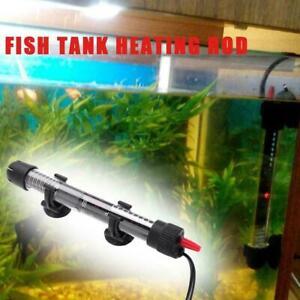 Submersible Adjustable Aquarium Fish Tank Water Heater Fish For Tropical UK K5X6