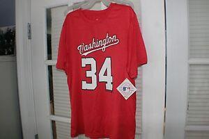 4349ba53e25 Image is loading MLB-Merchandise-Washington-Nationals -Bryce-Harper-Performance-Jersey-