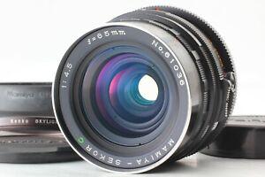 Quasi-Nuovo-Con-Cappuccio-Mamiya-Sekor-C-65mm-f-4-5-MF-Lente-per-RB67-Giappone-Pro-S-SD