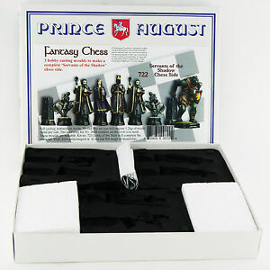 Prince August Hobby Casting Evil Fantasy Chess Sets moulds molds PA722