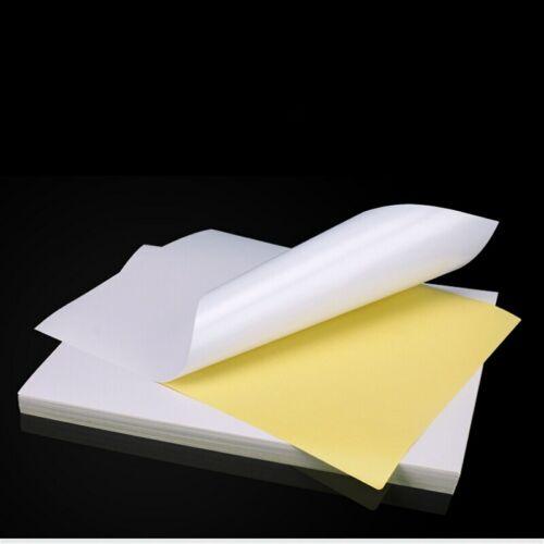 40 Sheets A4 Glossy Self Adhesive Paper Address Label Sticker Laser Inkjet Print